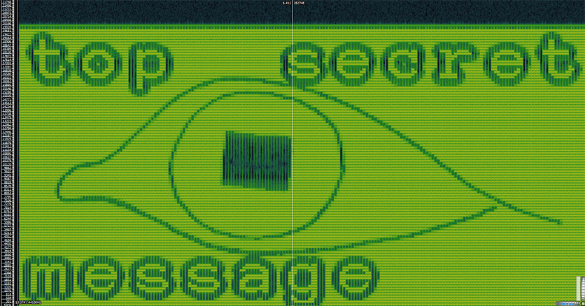 eye.wav spectrogram